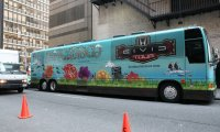 Panic! and FOB tour bus